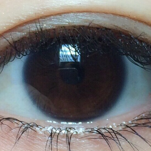 瞳のアップ写真