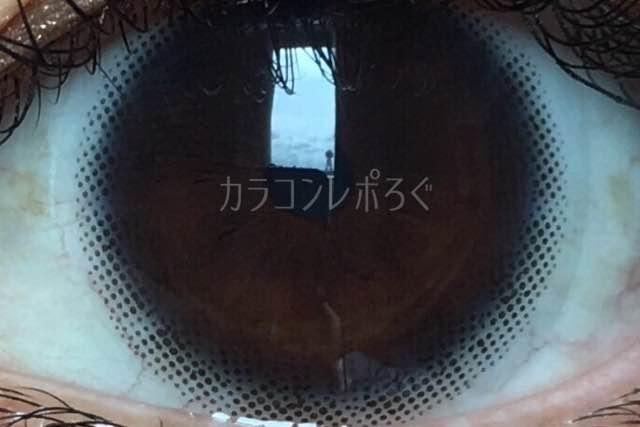 No.2ナチュラルブラック/アイラボワンデー着画アップ