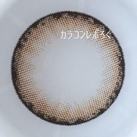 シジーナ/Cidinaカリーナブラウン装着画像レポ・レンズ画像