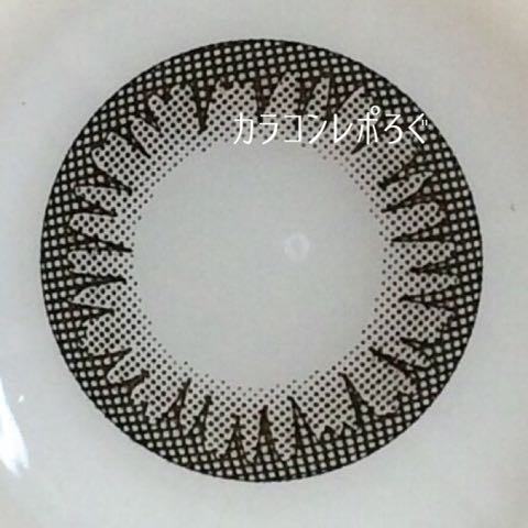 アイコフレワンデーナチュラルメイク/Eye coffret 1day装着画像レポ・レンズ画像