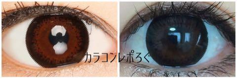 リゼ(Lizze)ブラウンブラック装着画像レポ・公式と実物比較