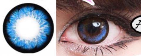 i-lens/アイ-レンズ1+1イベント・アイファックスY33ブルー