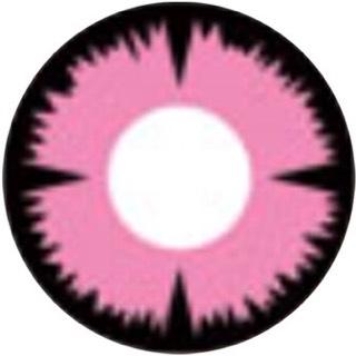 コスプレピンク色月光i-lens/アイレンズ装着画像レポ