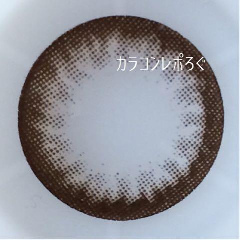 シークレットナチュラリーチョコi-lens/アイレンズ装着画像レポ・レンズ画像