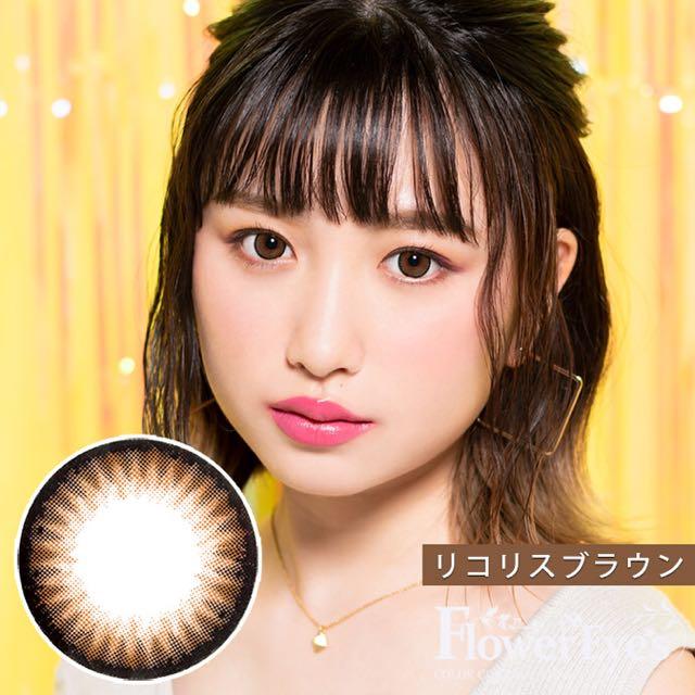 フラワーアイズR リコリスブラウン 口コミ/感想/評判