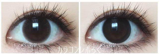 ディオーブワンデー&マンスリー/eye to eye D orb黒目装着画像まとめ
