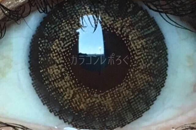 フレッシュルックデイリーズピュアヘーゼル/着画アップ