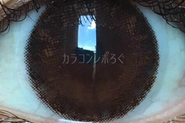 キスモアセレナマンスリージュリアブラウン/着画アップ