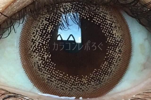 ユルリアマンスリーメルティブラウン/着画アップ