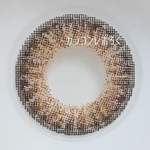 アンティークブラウン*ヴィヴィアン トウキョウコレクション(ヴィエンナカラコン)レンズ画像