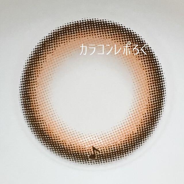 アルトブラウン(アレグロ2ウィーク)レンズ画像