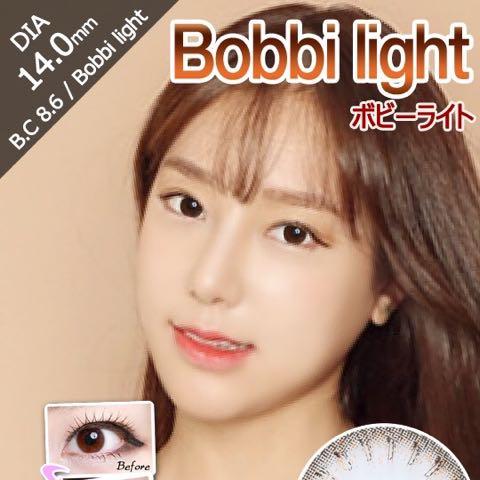 ボビーライトブラウン(i-lens/アイレンズ)口コミ/評判/感想
