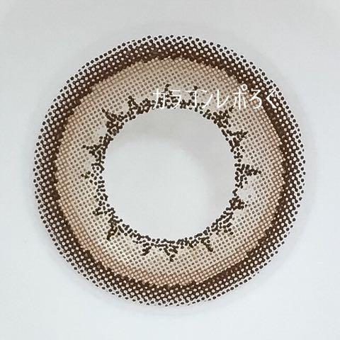 クチュールブラウン(ラヴェールマンスリー)レンズ画像