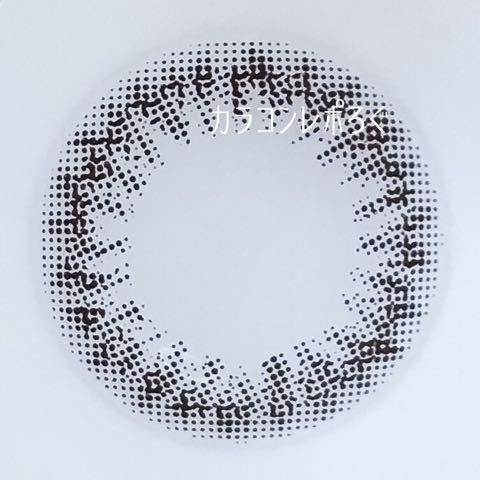 No.10ナチュラルビターブラウン(アイラボマンスリー)レンズ画像