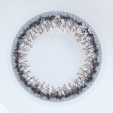 #02メルティーネイビー(パーツホワイトワンデー)レンズ画像