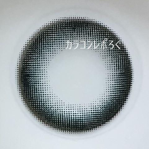 マーブルブラック(POPLENS/i-lens)レンズ画像