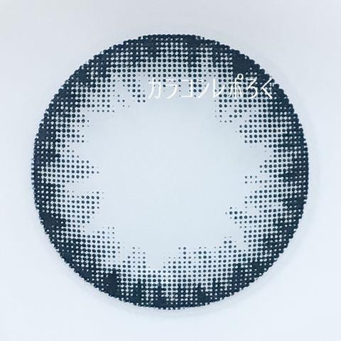 #01サークルネイビー(パーツホワイト)レンズ画像