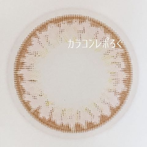 チョコレートミント(ワンマンスリフレアリル)レンズ画像