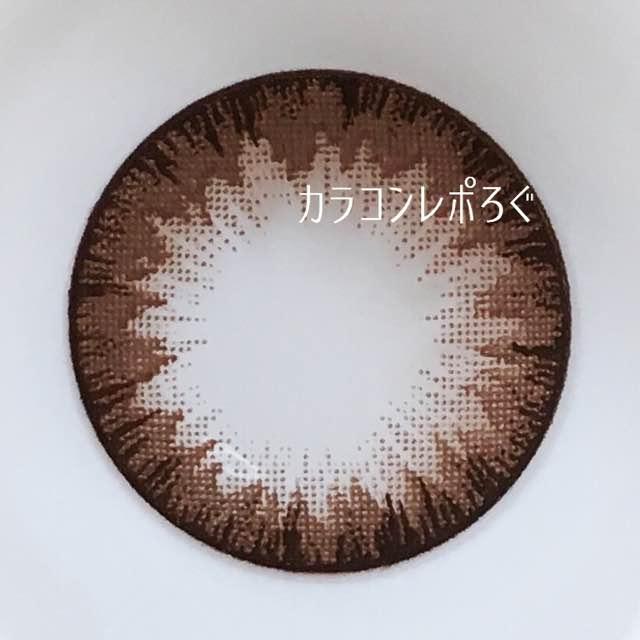 キスミーチョコレートワンデー/geeenieレンズ画像