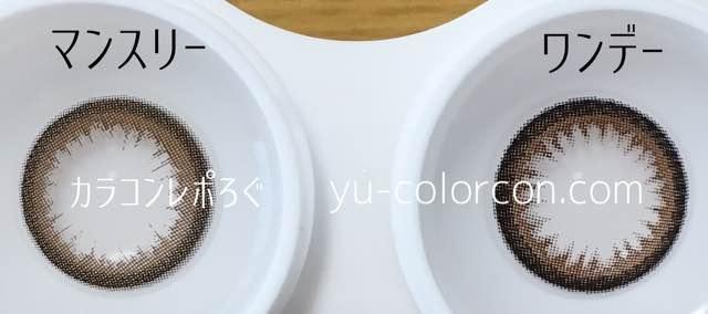 シルエットキャメルマンスリー&ワンデーレンズの違い/アイクローゼット
