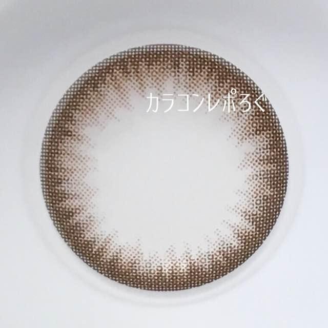 モカチョコ/アイニックシリコンワンデー/i-lensレンズ画像