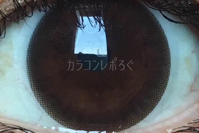 モカチョコ/アイニックシリコンワンデー/i-lens着画アップ
