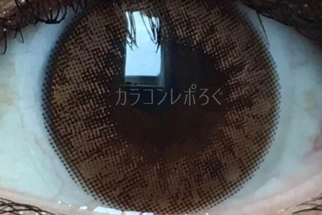 アイブリングランブラウン(i-lens/アイレンズ)着画アップ