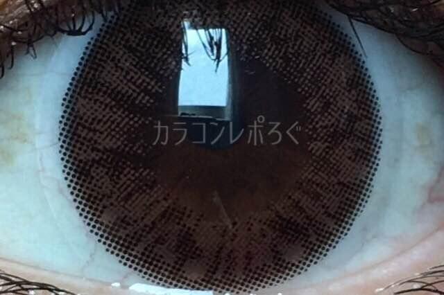 アイブリングランシリコンチョコ(i-lens/アイレンズ)着画アップ
