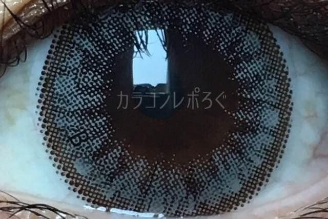 グラングラン(i-lens)ラブリングビックグレー(POPLENS)着画アップ