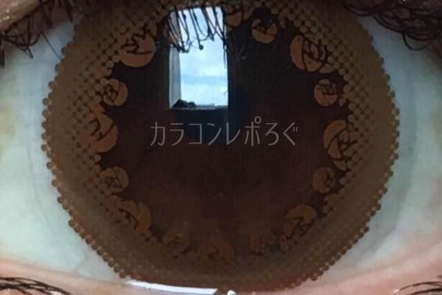セピアショコラ(メニコンネクトmime/ミメ)着画アップ
