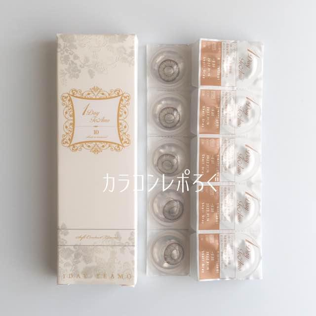 シェルグレー/ワンデーティアモパッケージ画像
