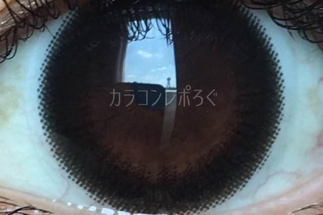 ダークミスト/デコラティブアイズヴェール/着画アップ