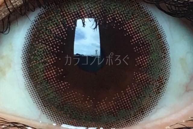シフォンオリーブ/ルミアDIA14.5mmレンズ画像