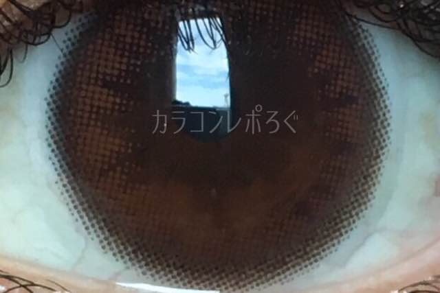 イットガールシークレットブラウン/i-lens大きさ/サイズ/着色直径