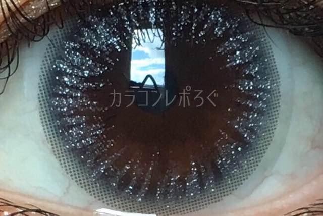 アンタッチパールシリコンシルバー(i-lens/アイレンズ)着画アップ