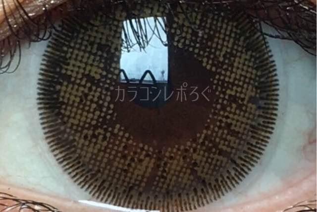 アリアンサークルブラウン(i-lens/アイレンズ)着画アップ