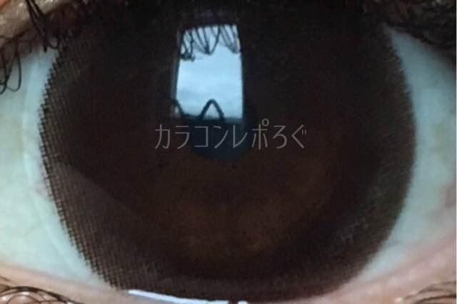 コンタクトフィルムズDIA15.0mmBKHZ-Bヘーゼルサークル/着画アップ