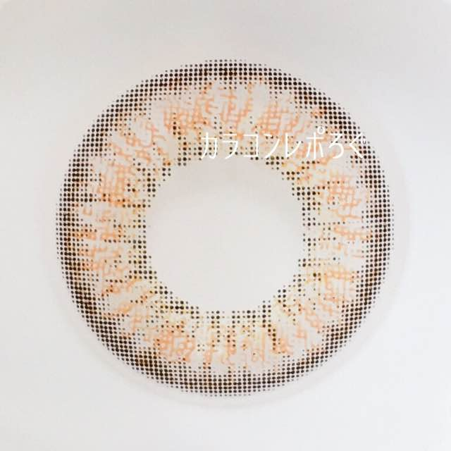 シュエリー/chouerieオレンジショコラレンズ画像