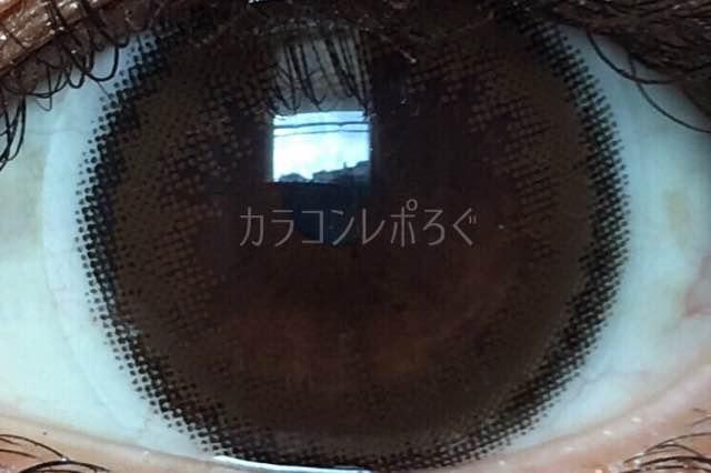 ヴィヴィアンアプリコットブラウン/着画アップ