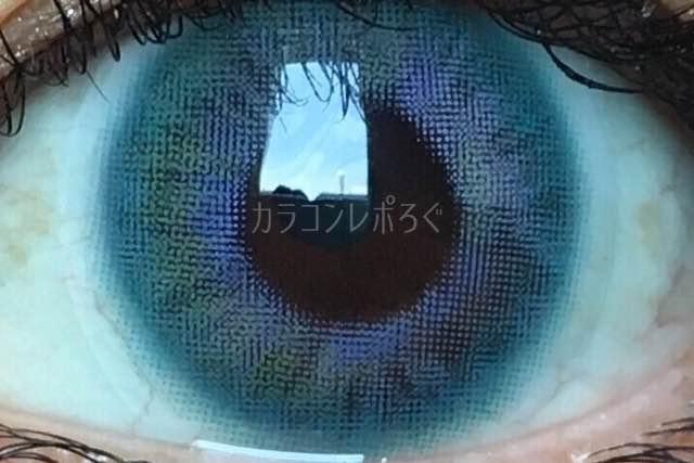 ダナレインボーブルー(i-lens/アイレンズ)着画アップ