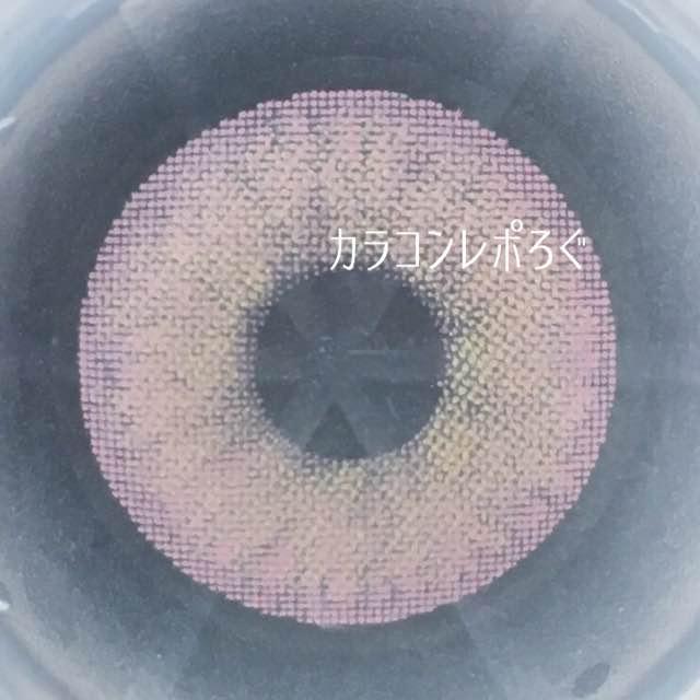 ハイブリッドプレミアムピンク(i-lens/アイレンズ)レンズ画像黒背景