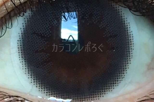 オリエントブラック/ラスターワンデー着画アップ