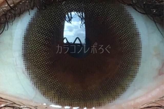 アイドルピュアブラウン(i-lens/アイレンズ)着画アップ