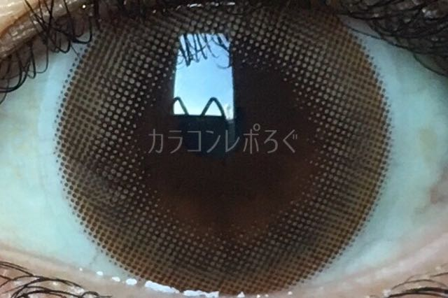 シュガーショコラブラウン(i-lens/アイレンズ)着画アップ