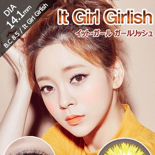 イットガールガールリッシュブラウン(i-lens/アイレンズ)口コミ/感想/評判