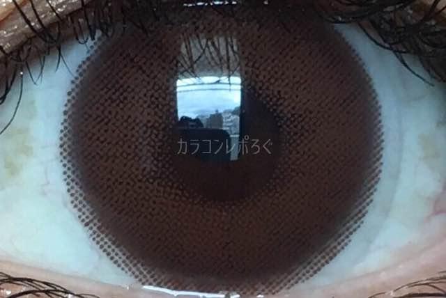 ハイブリッドプレミアムチョコ(i-lens/アイレンズ)着画アップ