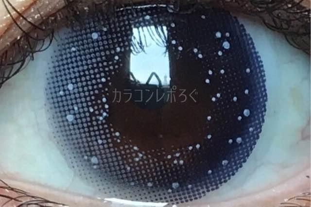 クロ・ギャラクシーグレー(i-lens/アイレンズ)着画アップ