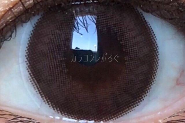 コーヒーシリコンチョコ(i-lens/アイレンズ)着画アップ