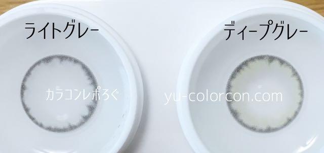 ワンダーアイ ライトグレー&ディープグレー レンズの違い比較