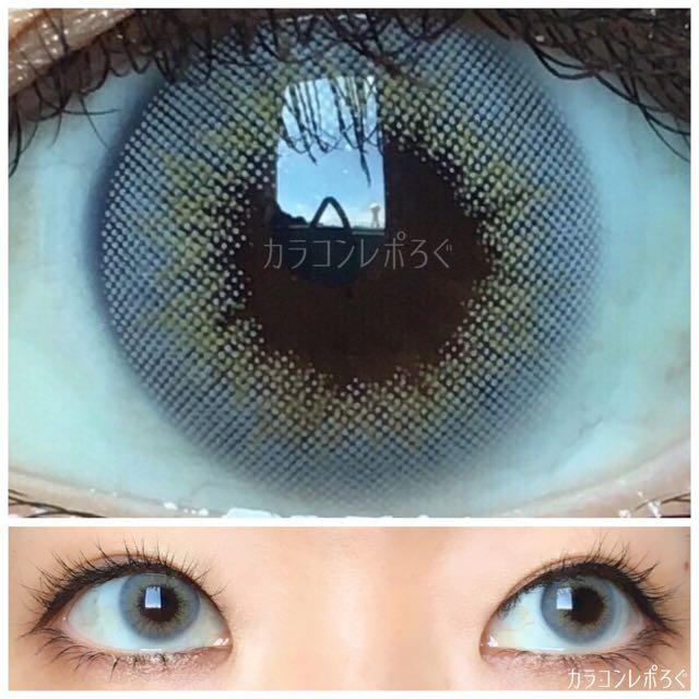 ミックスアンホリデーグレー(i-lens/アイレンズ)着画アップ&別角度